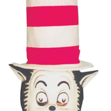 Cat In the Hat Mask With Hat