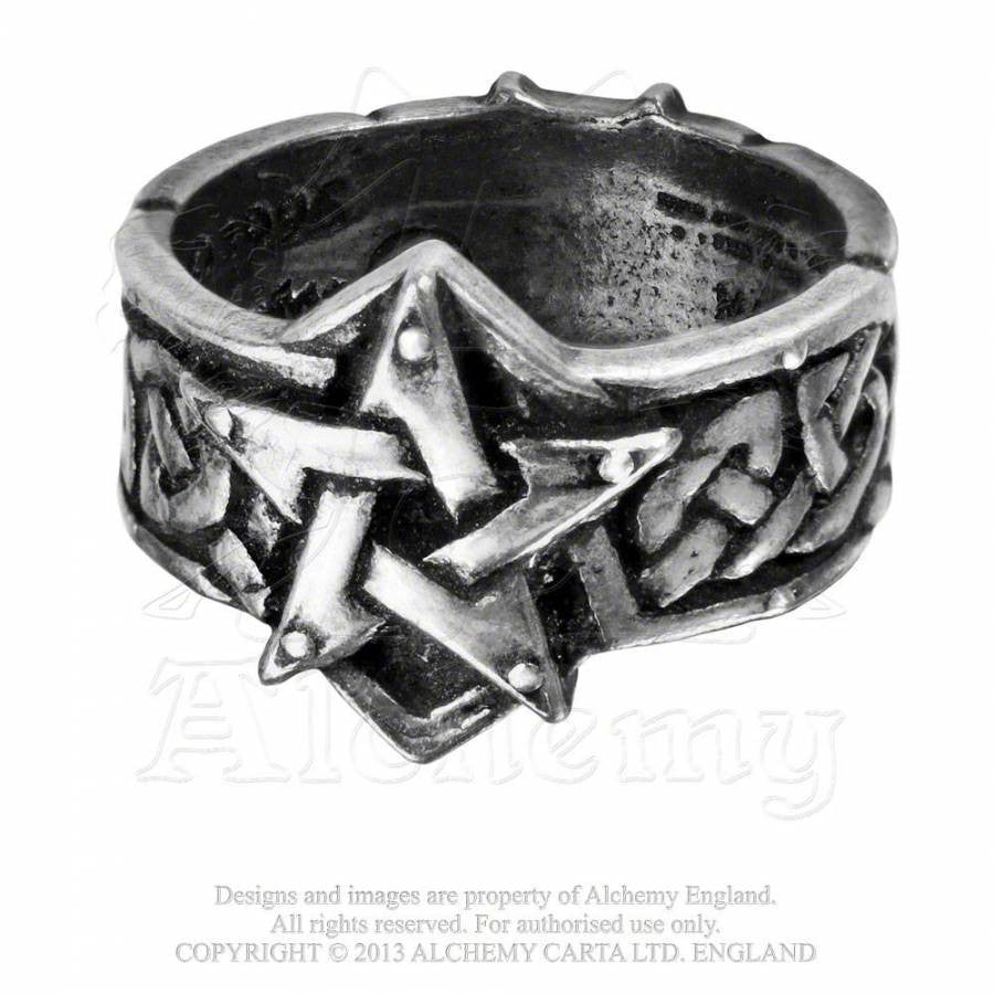 Alchemy Celtic Theurgy Ring