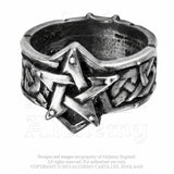 Alchemy Celtic Theurgy Ring - Domestic Platypus