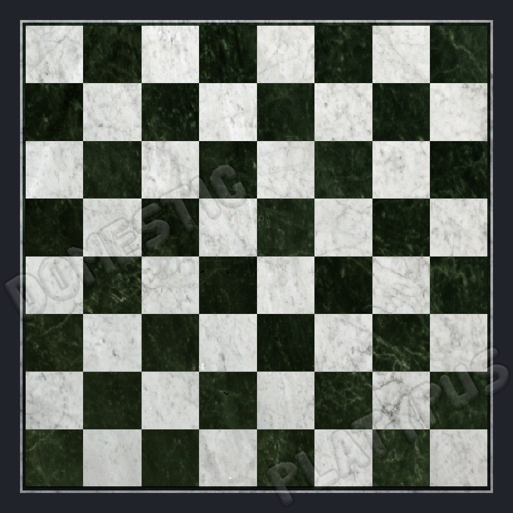 Marble Chess Board Floor Mat