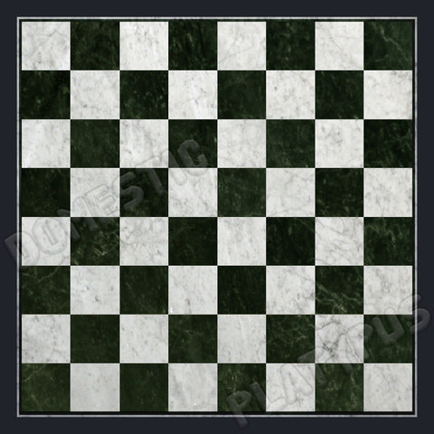 Marble Chess Board Floor Mat - Domestic Platypus