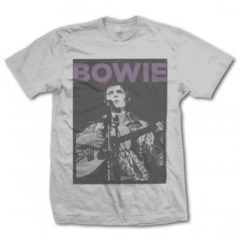 David Bowie Early Acoustic Photo Tee