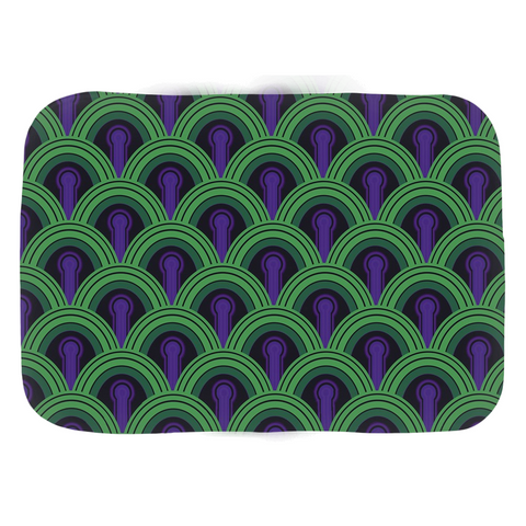 Domestic Platypus-Overlook 237 Bathmats, Classic Horror Hotel Bathroom Carpet Pattern-Bath mat-[meta description]