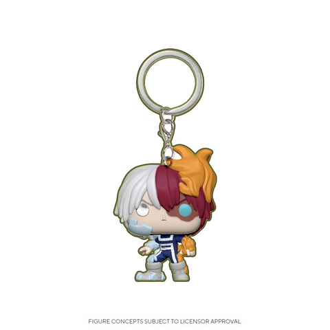 Funko Pop! Keychain: MHA - Shoto Todoroki Glow-In-The-Dark Exclusive