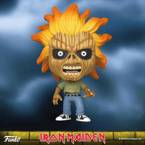 Funko Pop! Rocks: Iron Maiden - Selftitled (Skeleton Eddie)