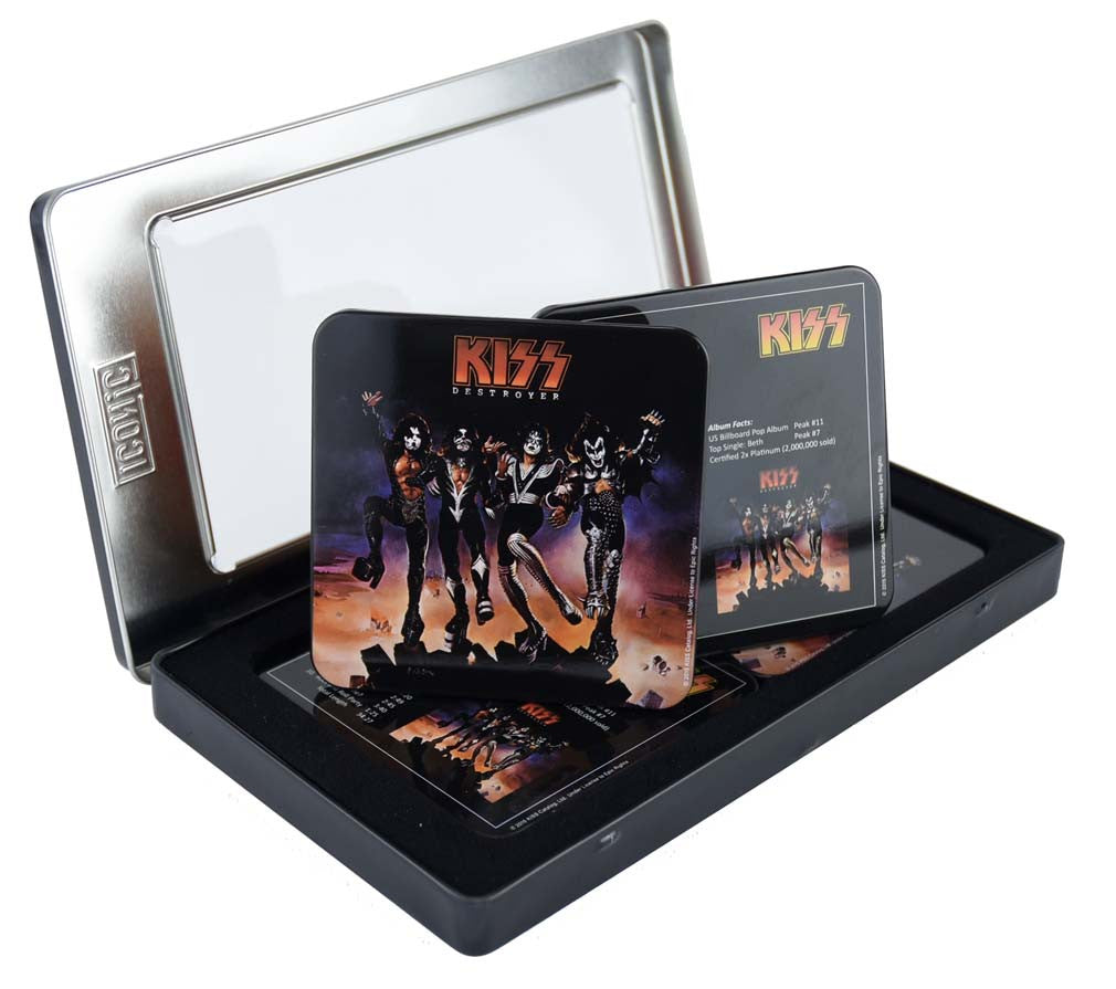 KISS Destroyer Drink Coaster Set (6 Coasters) - Domestic Platypus