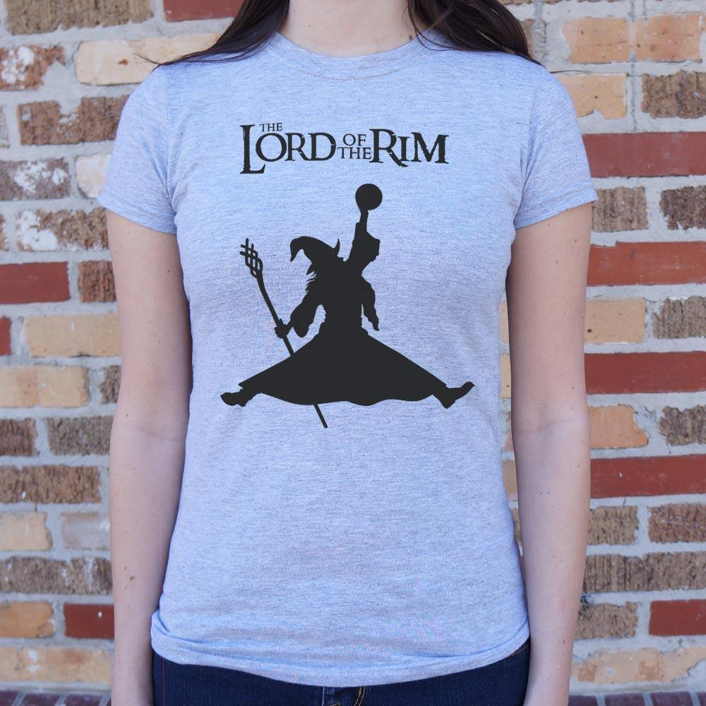 Lord Of The Rim T-Shirt (Ladies)