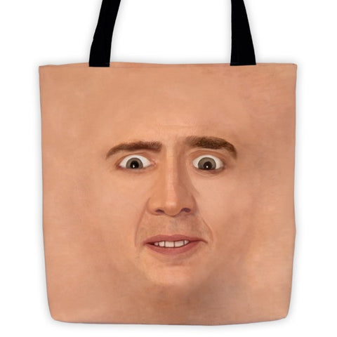 Creepy Cage Face Tote - Domestic Platypus