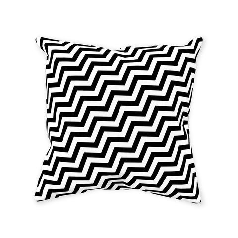 Black Lodge Throw Pillows