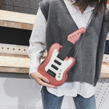 Stubbs Electric Guitar Shaped Crossbody Bag