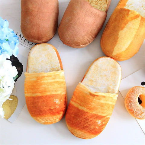 Loafers, Realistic Bread Loaf Slippers