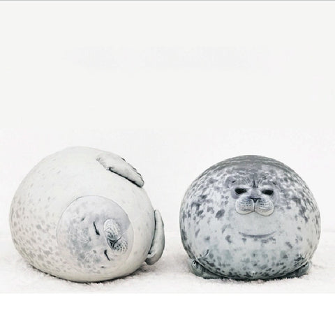 Harp Seal Plush Toy / Pillow