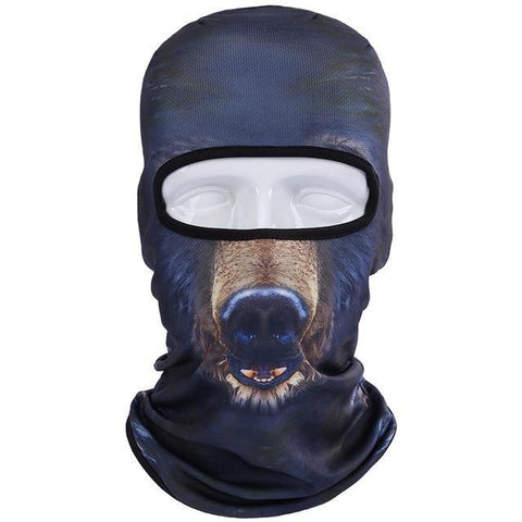 Domestic Platypus-Doberman 3D Print Balaclava, Funny Weird AOP Protective Dog Face Mask-Balaclava-[meta description]