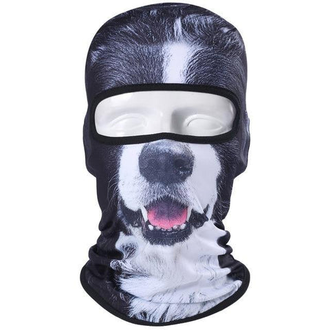 Border Collie 3D Print Balaclava