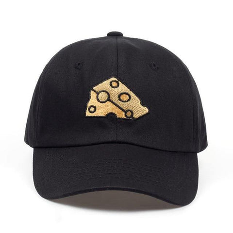 Swiss Cheese Wedge Embroidered Hat