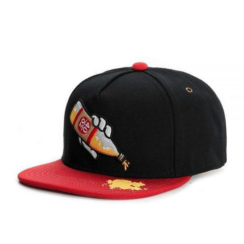 Pour One Out For the Homes 40oz Embroidered Hiphop Fashion Snapback Cap