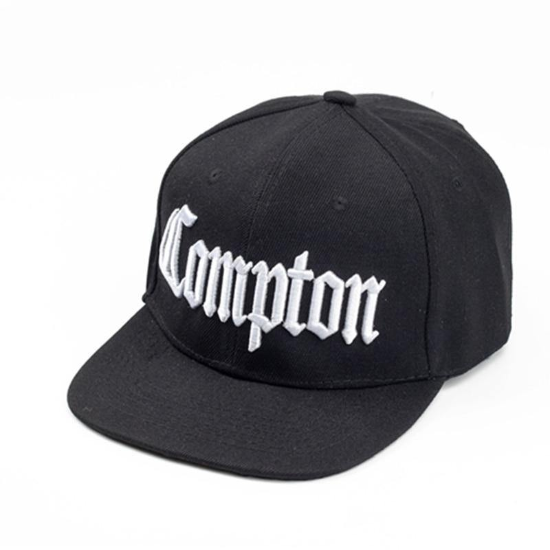 Compton Retro 3D Embroidered HIp Hop Fashion Cap