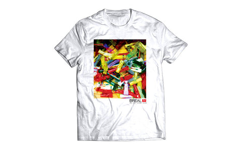 "BREAL.TV ""PHUNCKY FEEL TIP"" TEE"