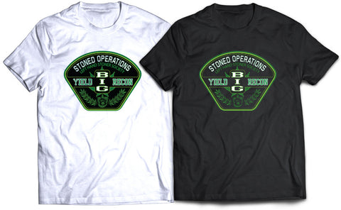"DR. GREENTHUMB ""STONED OPERATIONS"" RECON PATCH TEE"