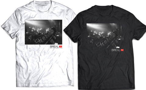 "BREAL.TV ""LIVE AND DIRECT"" TEE"