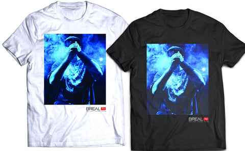 "BREAL.TV ""BLUE SMOKE"" TEE"