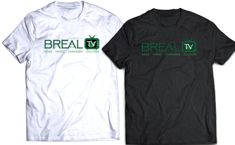 BREAL.TV GREEN LOGO TEE