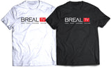 BREAL.TV RED LOGO TEE