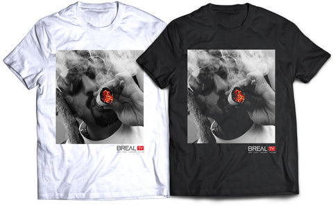"BREAL.TV ""SMOKE ONE"" TEE"