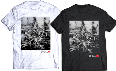 "BREAL.TV ""GROWROOM"" TEE"
