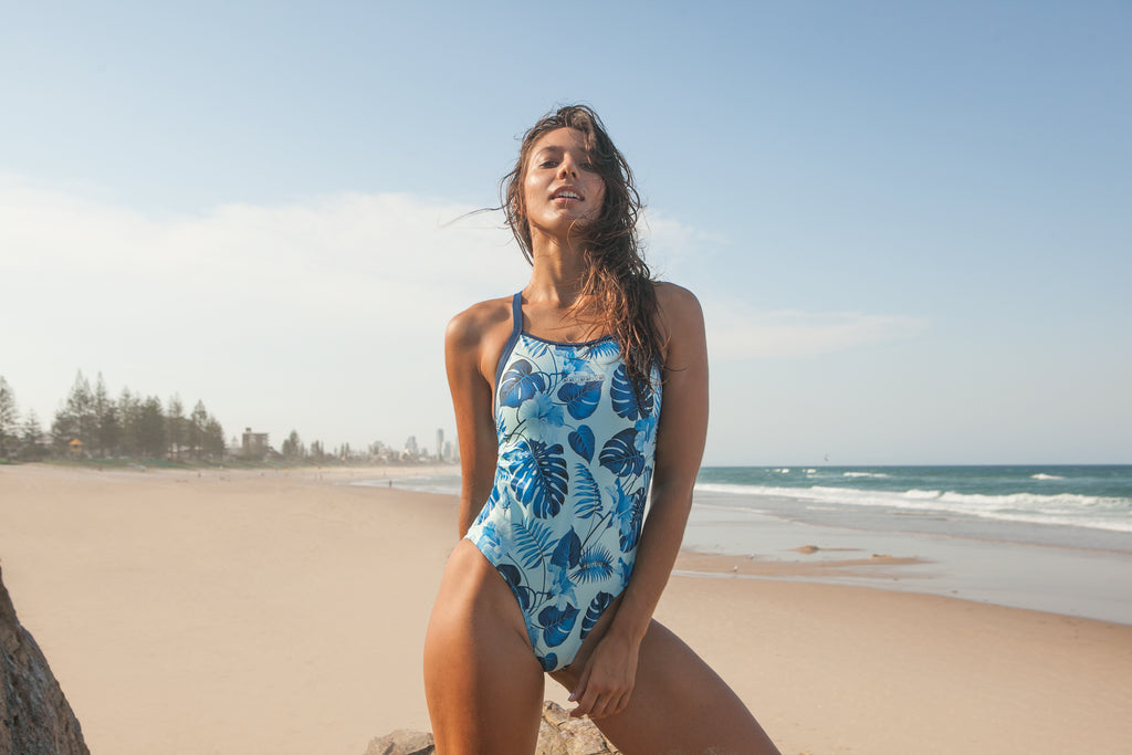 Aquadiva - chlorine proof fashion designer sports swimwear - made in Australia and perfect for swimming, triathlon, water polo, diving, surf life saving, surfing, wakeboarding, and lots more!