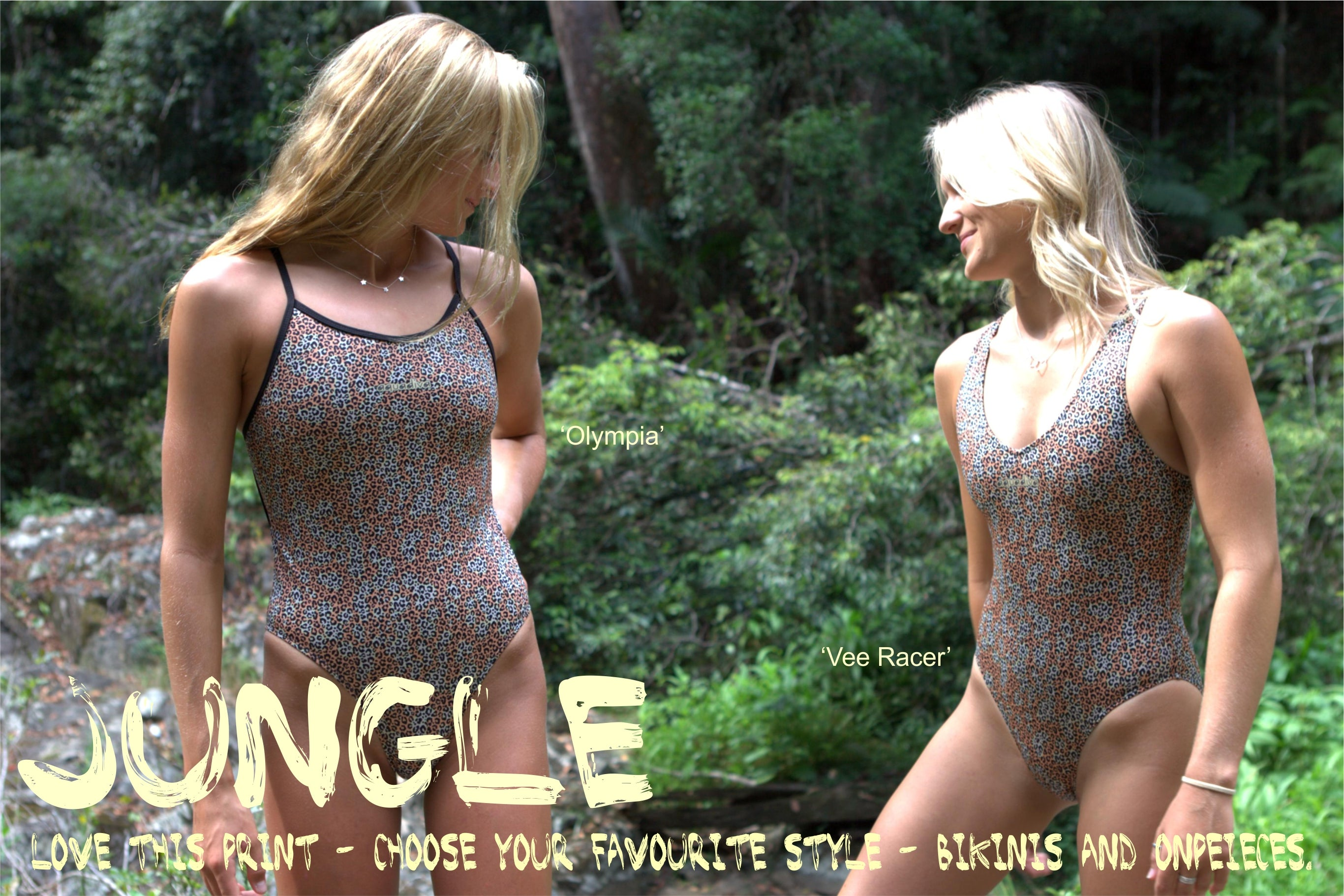 Jungle - all styles in BIKINIS and ONEPIECES