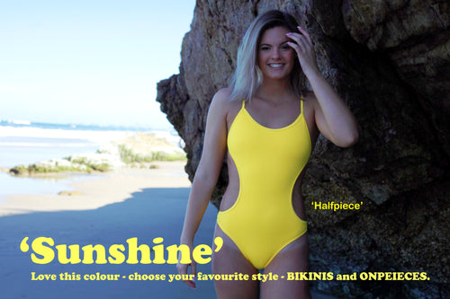 NEW! - Sunshine - all styles in BIKINIS and ONEPIECES