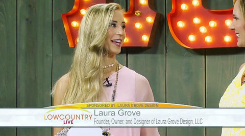 LowCountry Live Interview Laura Grove Design