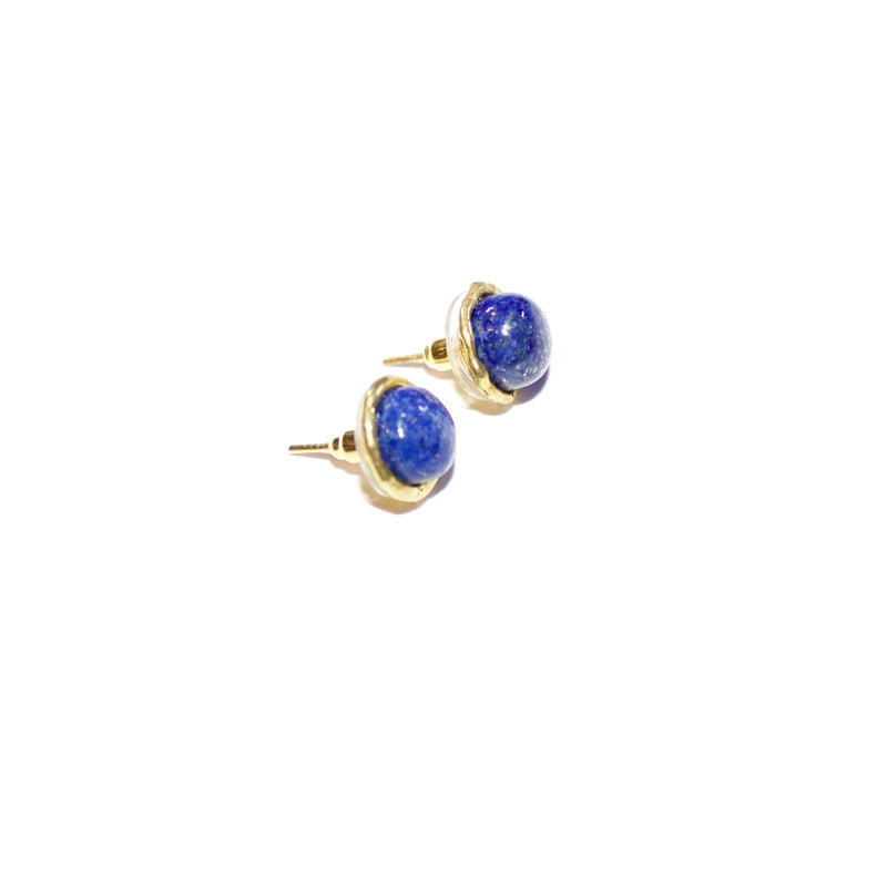 'Karen' (Lapis) Earrings