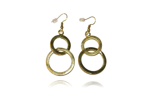 'Carley' (Gold) Earrings