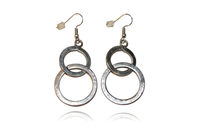 'Carley' (Silver) Earrings