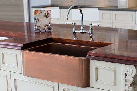 Copper Butler Sink - 765 - Live Checkout March Special !