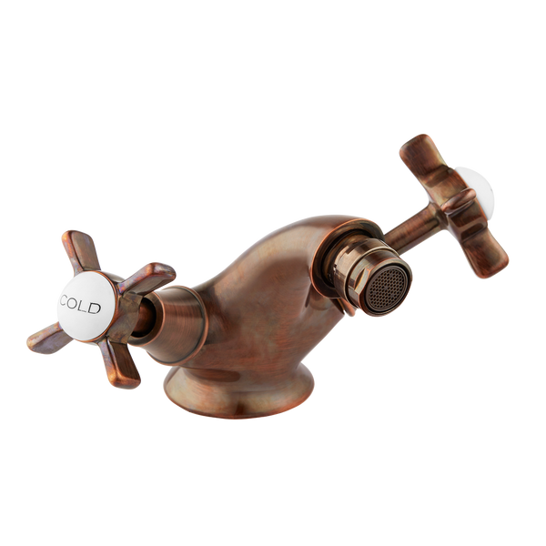 Bidet Mixer - Cross Handle