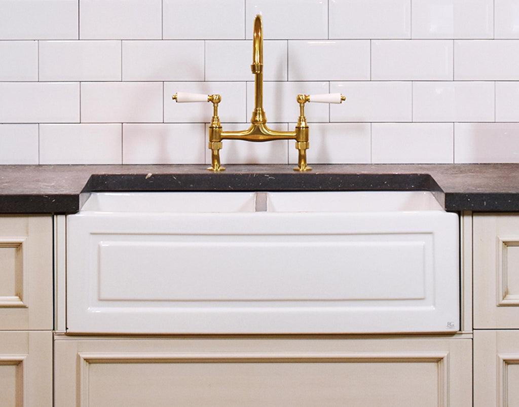 Double French Farmhouse Sink