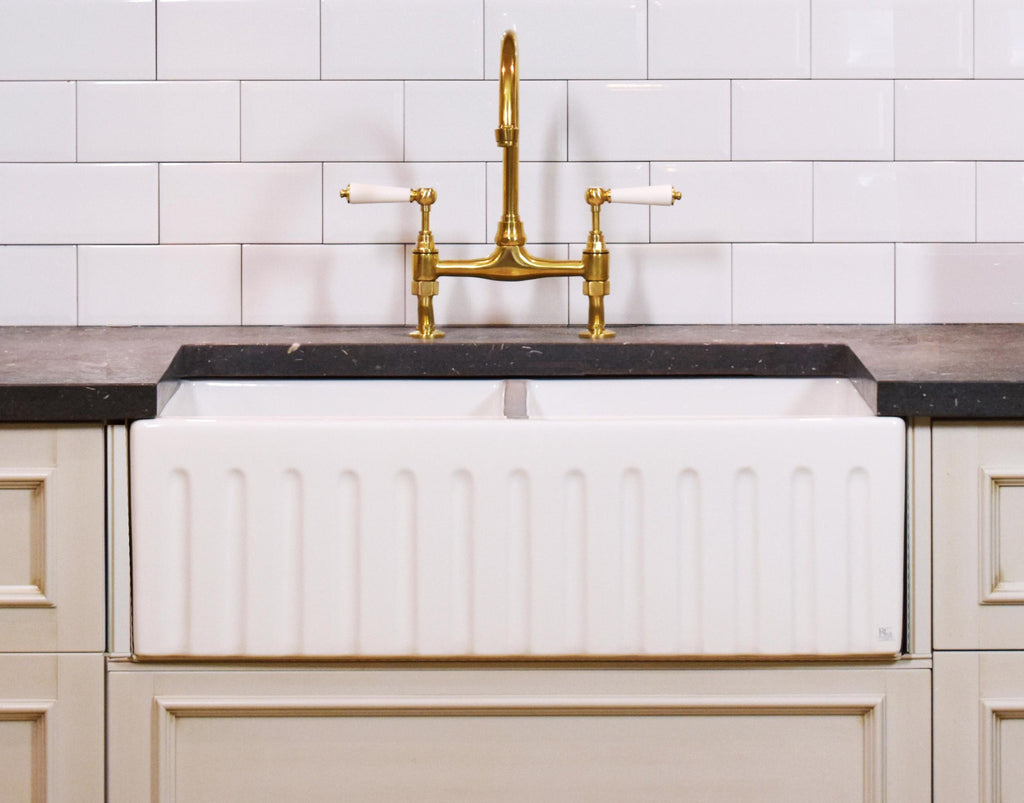 Great Belfast Sink   Special Promotion   Double Fluted Apron Sink