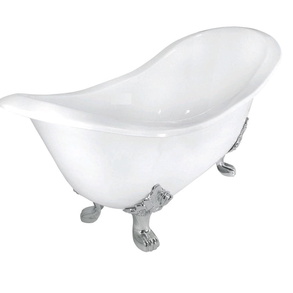 Cast Iron Double Slipper Bath