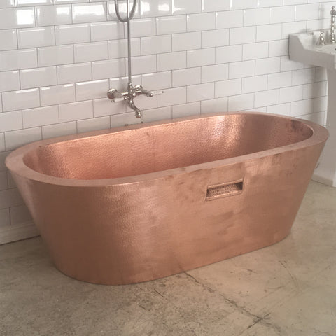 Rose Copper Bath