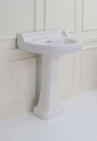 *Bathroom* Slacombe Pedestal Basin