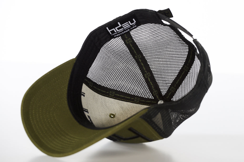 Military Green Classic Curved Bill Hat