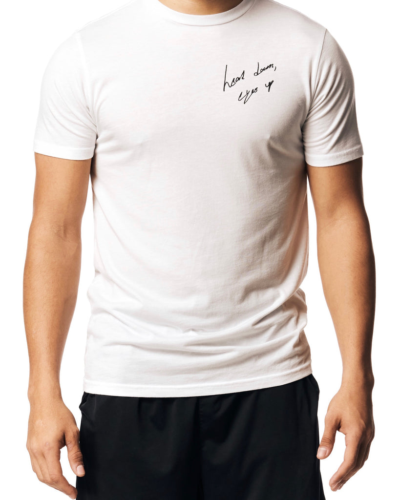 Limited Edition White Script T-Shirt