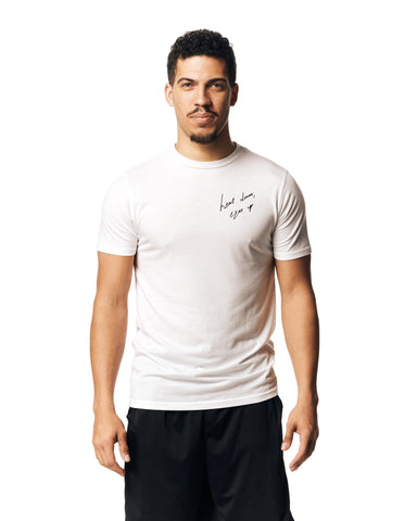 QUICK - White Performance Long Sleeve T-Shirt