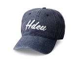 Denim Blue Varsity Curved Bill Hat