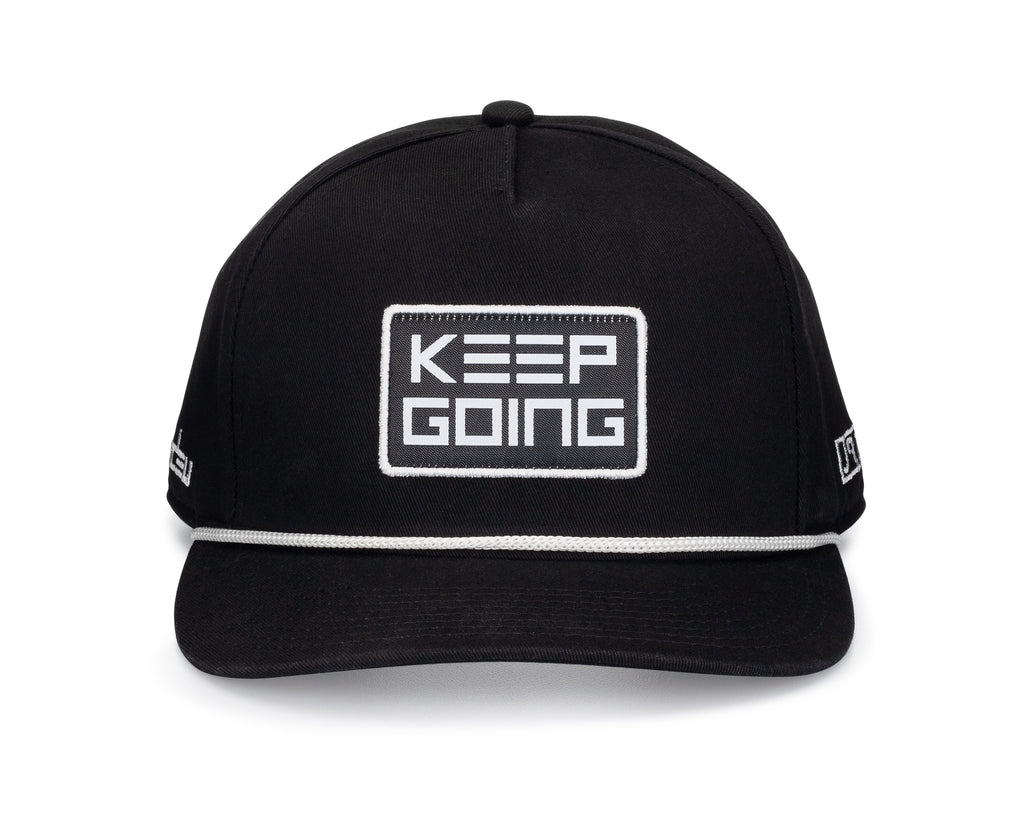 Black HDEU x JRT Keep Going Hat