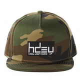 New Era Limited Edition Camo Flat Bill Hat