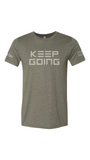 Military Green HDEU x JRT Keep Going T-Shirt